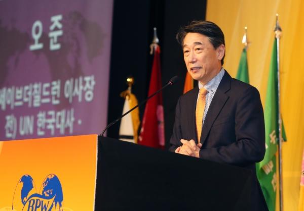 오준식 세이브칠드런 이사장 ⓒ이정실 여성신문 사진기자