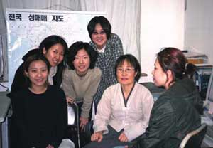 Activists in the  winner Hansori Society.