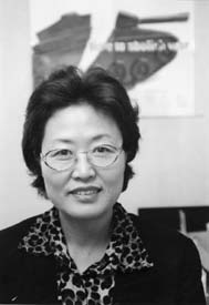 Lee Kim Hyun-Sook / representative of Women Making Peace