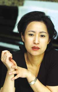 Kim Hee-jeong, professor of Composition, Sangmyung University, and executive director of the 2003 IFW.