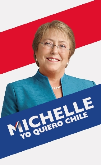 Presidential candidate Michelle Bachelet