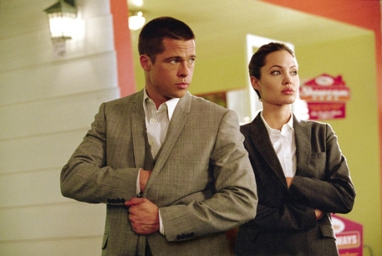 A scene from Mr. and Mrs. Smith