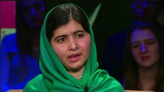 Malala Yousafzai in an interview with CNN.    ⓒCNN