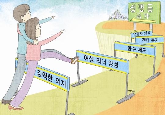 Illustration by Kim Sung-joon   ⓒ Womens News