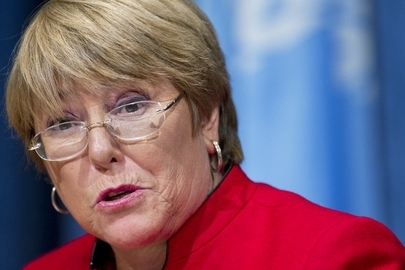Michelle Bachelet after her re-election victory in the Chile general elections. ⓒ UN Photo