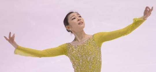 Kim Yuna, during her short program 'Send in the Clowns,' at Korea Figure Skating Championship 2014 held on the 4th at Goyang Oulimnuri Ice Rink. ⓒ Newsis, Women's News