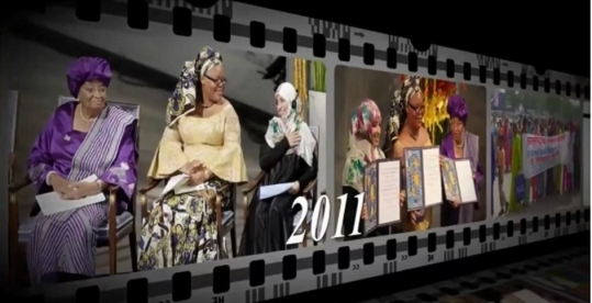 One of scenes from 'The Female Country,' the International Women's Day video clip: Version 2012.