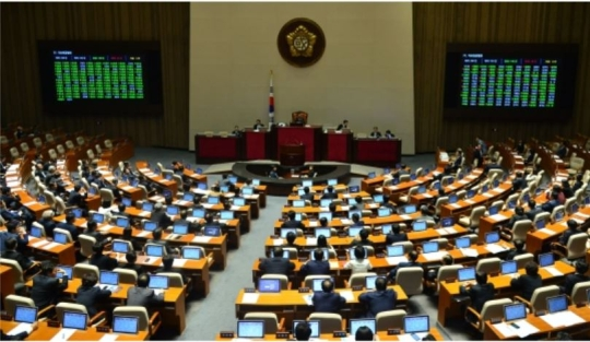 The National Assembly held a plenary session on May 2.