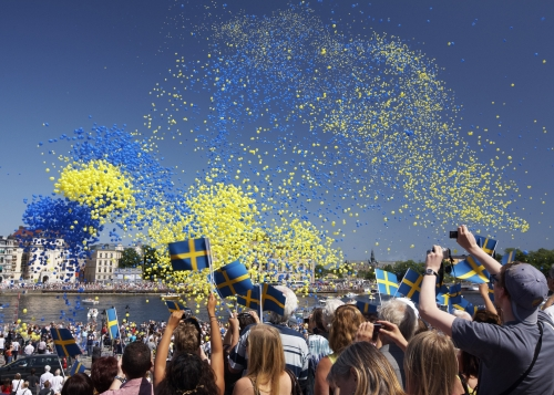 Event on a Swedish national holiday