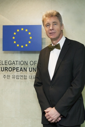 Ambassador Gerhard Sabathil of the EU Delegation in Korea